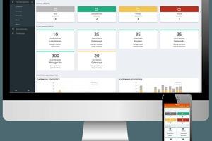 Mit der Smart Metering Plattform Q SMP werden Erfassungssysteme vom Büro aus bedient
