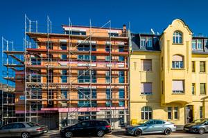 Ohne Zeitverzögerung: der Neubau an der Ste.-Foy-Straße 14 wurde innerhalb von 15 Monaten realisiert