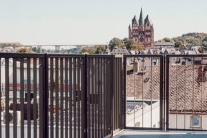Ohne Einschränkungen: Dachterrassen nach Süden und Westen eröffnen einen einzigartigen Blick auf die Limburger Altstadt
