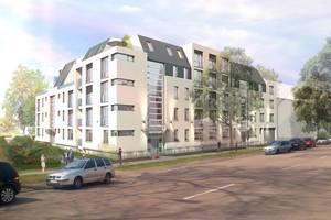 """Das bereits verwirklichte Projekt """"Bauhausblick"""" unterstreicht, dass zeitgemäße Wohnqualität etwas kosten darf"""