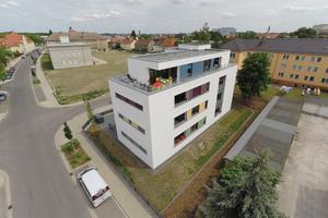 Auf dem ehemaligen Areal des Arzeimittelwerkes entsteht ein neues Wohnquartier für ein anspruchsvolles Mieterklientel