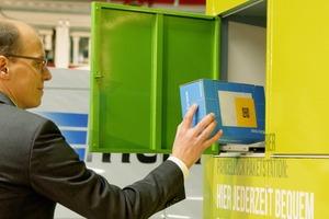 In den Paketstationen werden Bestellungen empfangen, aber auch Retouren hinterlegt<br />