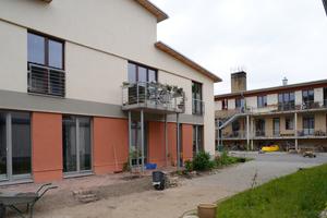 Insgesamt sind 58 individuell gestaltete Miet- und Eigentumswohnungen entstanden