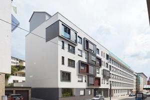 An der Urbanstraße in Stuttgart baute die WHS ein ehemaliges Bürogebäude bis auf die Außenmauern zurück und unter Berücksichtigung aktueller energetischer Maßstäbe wieder neu auf