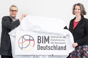 """Eröffneten das """"BIM Deutschland"""": die Staatssekretärinnen Anne Katrin Bohle (BMI, links) und Dr. Tamara Zieschang (BMVI)"""