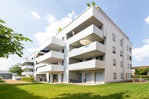 """Alle Wohnungen sind mit """"arimeo""""-Fensterfalzlüftern ausgestattet"""