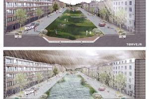 Bei gutem Wetter eine Liegewiese, bei starkem Regen ein Kanal – mit intelligenten Maßnahmen wie diesen wappnet sich Kopenhagen gegen den Klimawandel