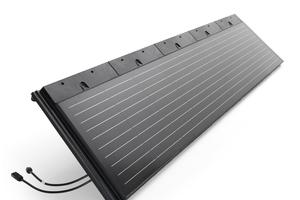 5er-Modul der S-Pfanne PV zur optimalen Flächennutzung
