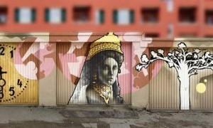 ... mit Motiven rund um Mathildenhöhe und Jugendstil.