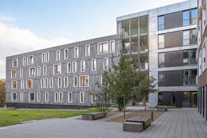 Standardisierung nicht mit Eintönigkeit gleichzusetzen, wie das Beispiel des Bochumer Studentenwohnheims Siepenfeld beweist