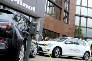 In modernen Liegenschaften bald Standard: Ladeinfrastrukturen für E-Autos