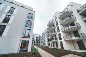 Anfang dieses Jahres ist das aktuell größte Bauprojekt fertig geworden – das Goethequartier in Offenbach mit 327 Wohnungen.