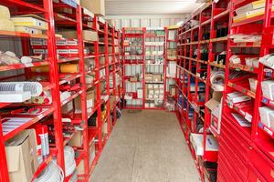 Hohe Materialverfügbarkeit vor Ort garantiert kurze Wege<br />