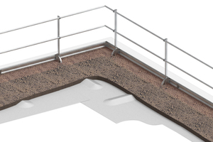 Geländersystem BauderSECUTEC BARRIER FSM