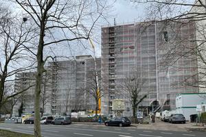 Wärmeversorgung sichergestellt – die Gebäude der LEG Immobilien AG wurden modernisiert