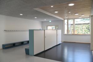 Mehr Raum zum Lernen: Hier kann der große Zwischenbereich für Lerngruppen genutzt werden