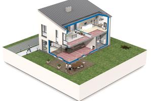 Die Flächenkühlung bietet optimale Voraussetzungen, um die Anforderungen des GEG beim Primärenergiebedarf zu erfüllen