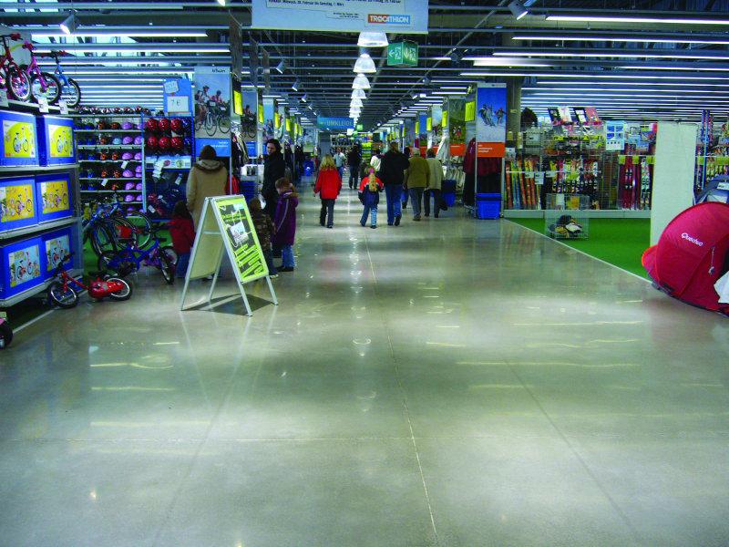 Fußboden Polierter Beton ~ Bundesbaublatt