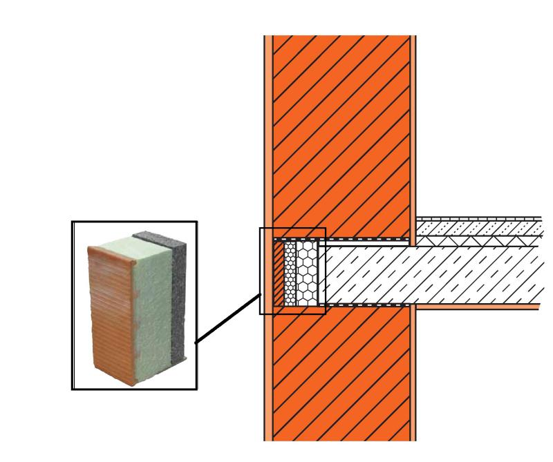Schallschutz  Und Wärmeschutztechnisch Optimierter Anschluss: Ein  Spezielles Deckenrandelement Mit Keramischer Ziegelschale Verbessert Die  Einbindung
