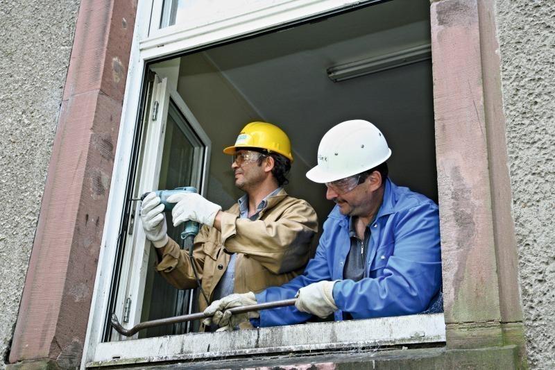 Bundesbaublatt - Fenster geht nicht zu ...