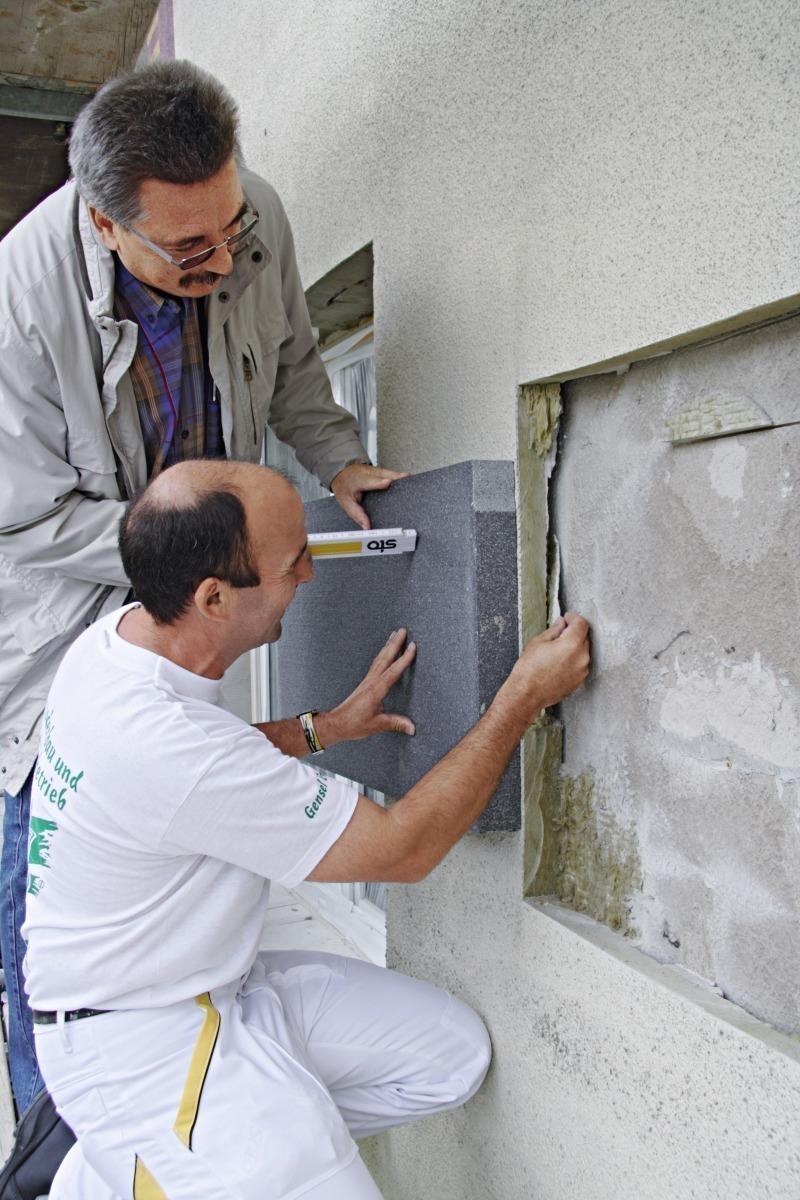 Wand Aufdoppeln bundesbaublatt
