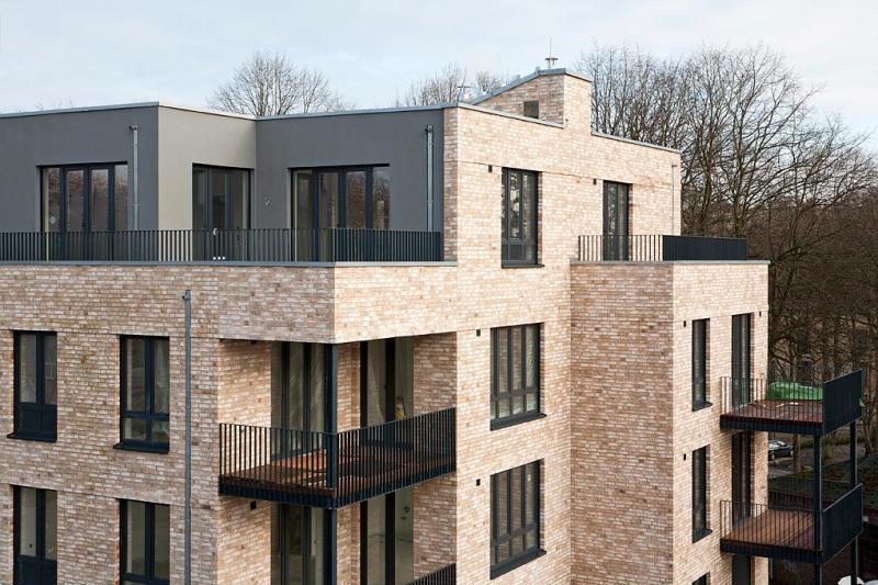 Moderne Mehrfamilienhäuser Bilder bundesbaublatt