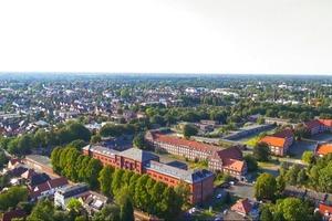Luftbildaufnahme von der ehemaligen Donnerschwee-Kaserne