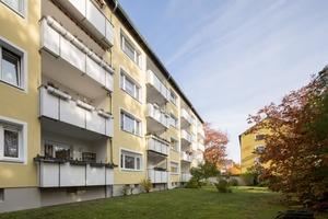 Der Praxistest zeigt – es funktioniert: Drei Mehrfamilienhäuser der Sennestadt (Luheweg 1 bis 11)...