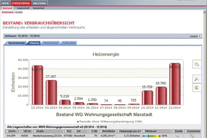 Mit Online-Services wie dem eMonitoring von Minol können aktuelle Verbrauchswerte und Kosten jederzeit überprüft werden