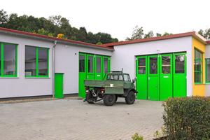 Das Gesamtergebnis zeigt eine gut gedämmte Gebäudehülle, die den Energieverbrauch der über 55 Jahre alten Werkstätten signifikant senkt ...