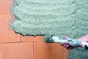 Modernes Mauerwerk verlangt nach entsprechendflexiblen Leichtputzen
