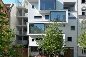 Das Multifunktionsgebäude c13 - ein Projekt in der Gebäudeklasse 5 - steht in Berlin und wäre aktuell in Baden-Württemberg ein regelkonformes Bauvorhaben