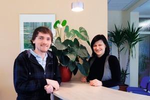 Matthias Schaf und Doreen Schünemann,  GEWOG Bad Salzungen