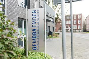 Die GEWOBA verwaltet in Emden 950 eigene und 75 fremde Wohnungen