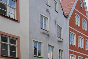 Auf Fassaden sorgen Algen und Pilze meist nur für unansehnliche Verfärbungen