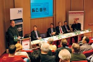 Peter Rathert, Ministerialrat im BMVBS, informierte über die Energieeinsparverordnung<br />