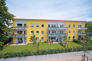 Durch ein weiteres Stockwerk und neue, großzügige Balkone zieht nun eine neue Lebensqualität in Grumme ein<br />