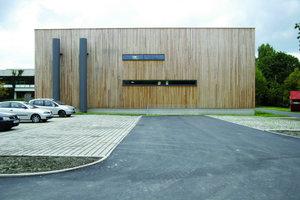 Eine technische Herausforderung:die Tragstruktur des ca. 1000 m² großen Gebäudes