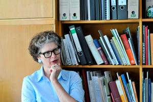 """Denkmalpflegerin Prof.Gabi Dolff-Bonekämper im Interviewfür die Videoreihe """"Plattenköpfe"""""""