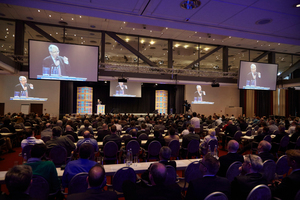 """500 Gäste informierten sich auf der 1. Leading Air Convention über Innovationen und Zukunftsaussichten der Branche<span class=""""bildunterschrift_bildnachweis""""></span>"""