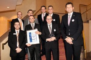 Guido Hörer nimmt die begehrte Auszeichnung entgegen<br />