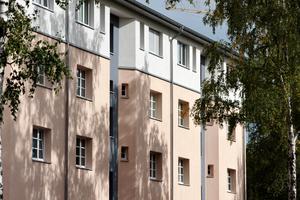 Nach und nach werden alle Gebäude aufgestockt, um neue, familienfreundliche Wohnungen zu schaffen