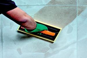 Fugenmörtel wie Nanofug Premium schützen die Fugen vor möglichen Schäden