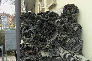 Auch Kunststoff-Rollladen werden <br />werkstofflich recycelt<br />