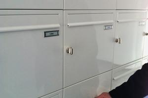 Auch der Briefkasten lässt sich nur noch elektronisch öffnen