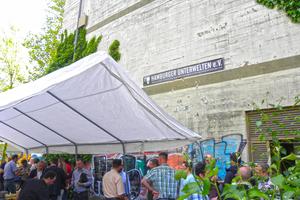 Bunker-Event mit Besichtigung und Grillfest im Mai 2014