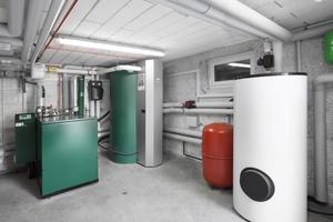 Die alte Heizungsanlage wurde durch ein Erdgas-Blockheizkraftwerk ersetzt, das sowohl Wärme als auch Strom liefert