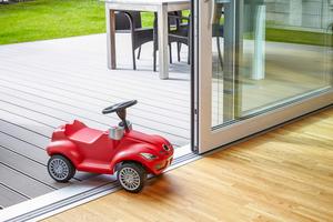 Schwellenlose Außentüren vereinfachen den Alltag von jedem