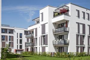 """""""Länger sauber x schneller trocken x länger schön"""": Diese Vorzüge genießt auch die Wohnanlage in Göttingen"""