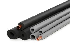 Technische Dämmstoffe aus flexiblen Elastomeren (FEF) und Polyethylen (PEF) reduzieren Temperaturschwankungen in den Leitungen und schützen so die Gesundheit der Mieter